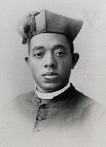 First black U.S. diocesan priest and sainthood candidate shown in archival photo