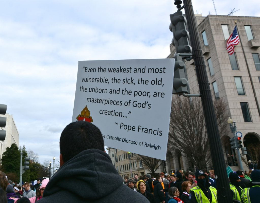 2017 March for Life - Washington DC January 27 (Photo taken by Phyllis L. Johnson) 26