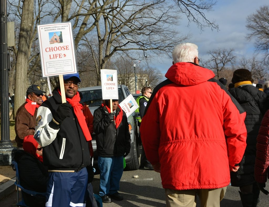 2017 March for Life - Washington DC January 27 (Photo taken by Phyllis L. Johnson) 32