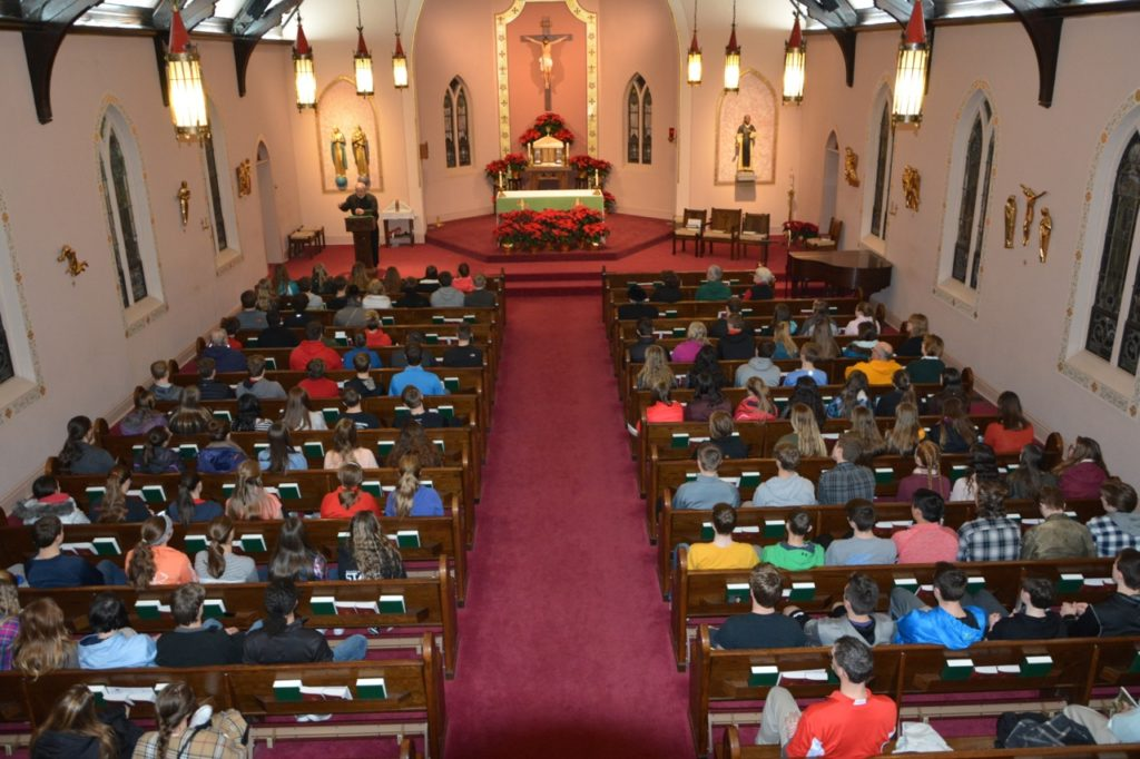 Pilgrims from Fargo North Dakota at St. Joseph Catholic Church, Alexandria, VA - January 26, 2017 (Photo taken by Phyllis L. Johnson) 9