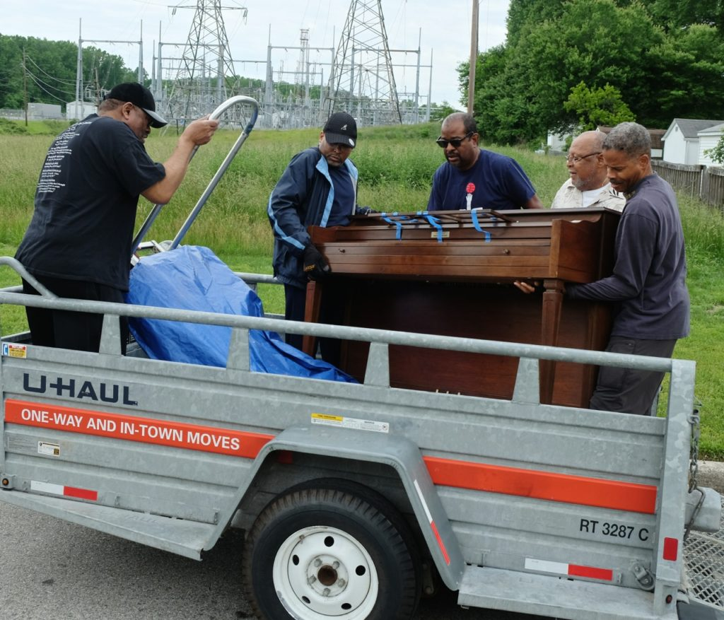 John and Linda Dogan Piano Donation to the Josephite Seminary - May 27, 2017 17
