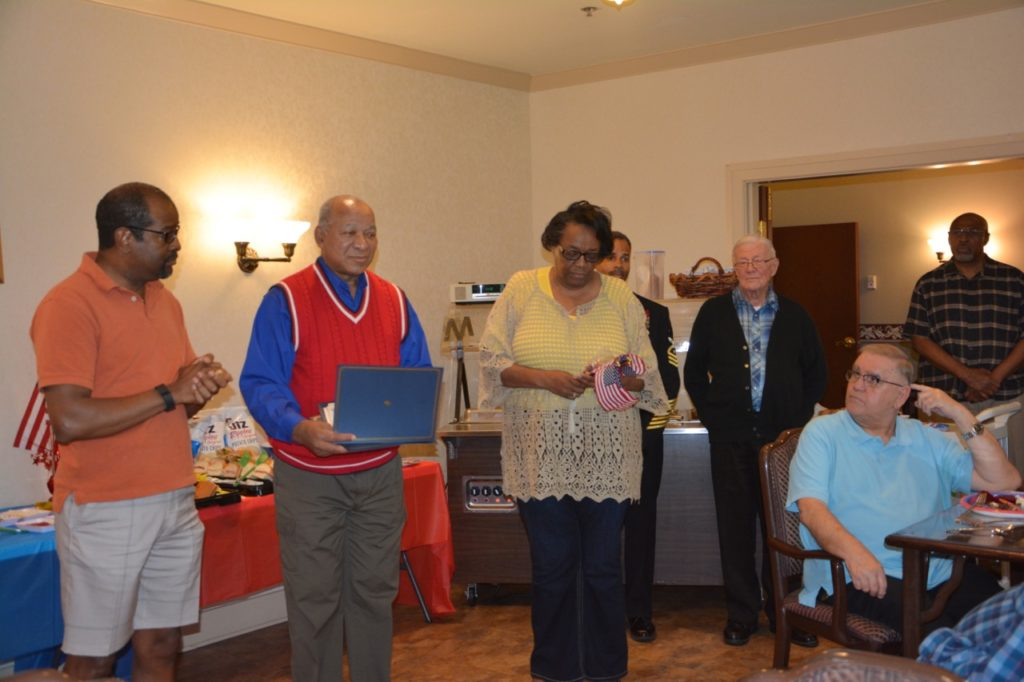Knights of Peter Claver Council and Court 398 Honoring Josephite Military Veteran - May 29, 2017 13