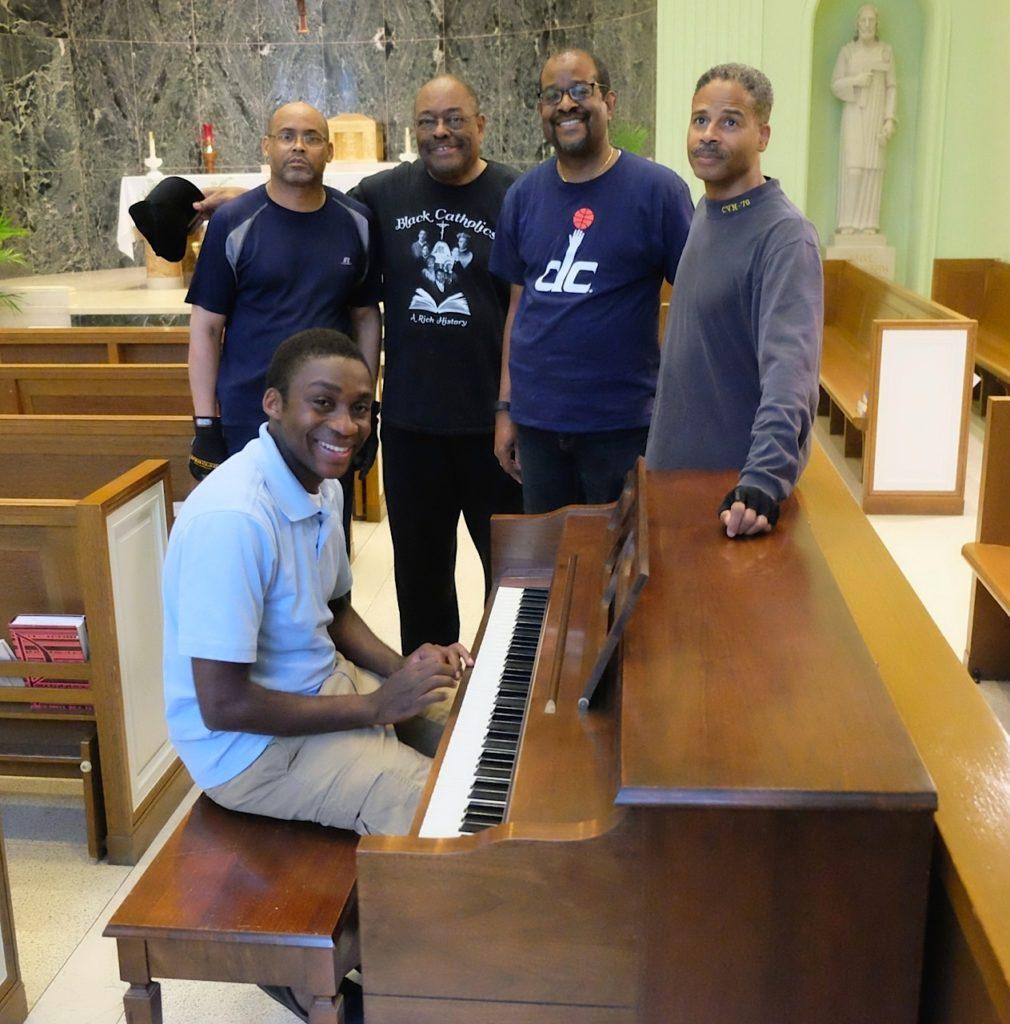 John and Linda Dogan Piano Donation to the Josephite Seminary - May 27, 2017 24