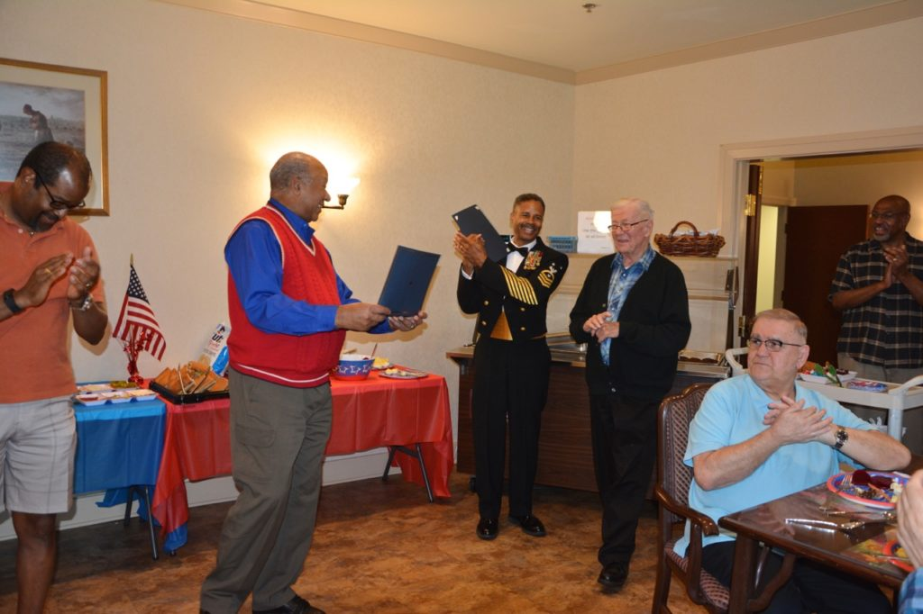 Knights of Peter Claver Council and Court 398 Honoring Josephite Military Veteran - May 29, 2017 20